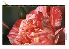 Carry-all Pouch featuring the photograph Beauty Of Rose by Joy Watson