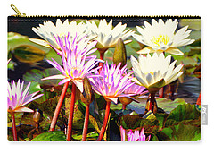 Carry-all Pouch featuring the photograph Beauty On The Water by Marty Koch