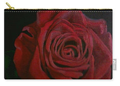 Carry-all Pouch featuring the painting Beauty by Thomasina Durkay