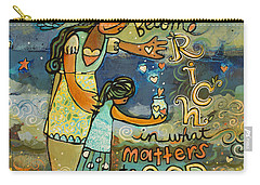 Become Rich In What Matters To God Carry-all Pouch