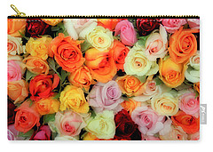 Bed Of Roses Carry-all Pouch by Tony Grider