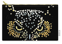 Bedazzled Owl Carry-all Pouch