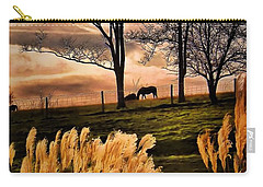 Bedtime Snackin Carry-all Pouch by Robert McCubbin