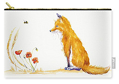 Bee A Summer Fox Carry-all Pouch