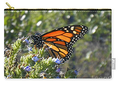 Bee And Monarch  Carry-all Pouch
