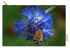 Carry-all Pouch featuring the photograph Bee by Leticia Latocki