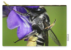 Bee-licious Flower Carry-all Pouch by Myrna Bradshaw