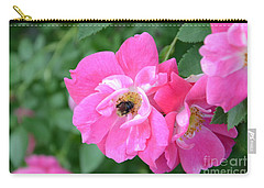 Bee Rosy Carry-all Pouch