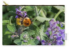 Carry-all Pouch featuring the photograph Bee Too by David Gleeson