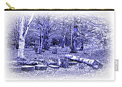 Carry-all Pouch featuring the photograph Beech Woods by Jane McIlroy