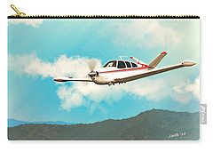 Beechcraft Bonanza V Tail Red Carry-all Pouch