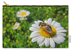 Honey Bee Pollination Services Carry-all Pouch by Maciek Froncisz