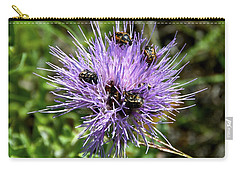 Carry-all Pouch featuring the photograph Beetlemania by Dee Dee  Whittle