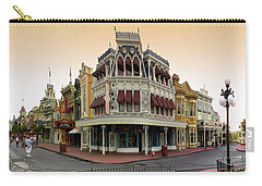 Before The Gates Open Magic Kingdom Main Street. Carry-all Pouch