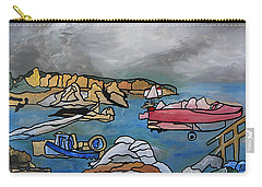 Carry-all Pouch featuring the painting Before The Storm by Barbara St Jean