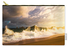 Carry-all Pouch featuring the photograph Before The Storm by Eti Reid
