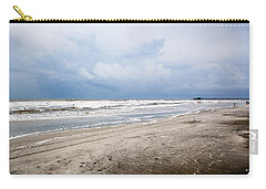 Carry-all Pouch featuring the photograph Before The Storm by Sennie Pierson