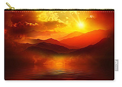 Before The Sun Goes To Sleep Carry-all Pouch