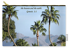 Carry-all Pouch featuring the photograph Beginning by Deb Halloran