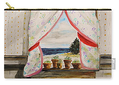 Carry-all Pouch featuring the painting Beginnings by John Williams