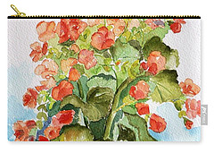 Begonias Still Life Carry-all Pouch