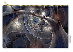Carry-all Pouch featuring the digital art Beguiled At Twilight by Casey Kotas