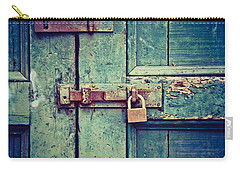 Behind The Blue Door Carry-all Pouch