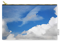Behind The Clouds Carry-all Pouch by Susan Wiedmann