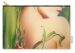 Behind The Curtain Of Colours -the Tulip Carry-all Pouch