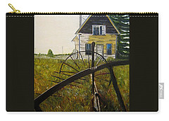 Carry-all Pouch featuring the painting Behind The Old Church by Marilyn  McNish