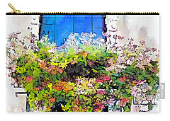 Carry-all Pouch featuring the painting Bei Fiori by Greg Collins