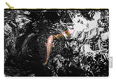 Carry-all Pouch featuring the photograph Being Koi by Glenn DiPaola
