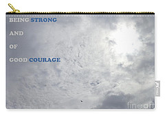 Being Strong With Courage Carry-all Pouch