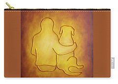Being There 2 - Dog And Friend Carry-all Pouch