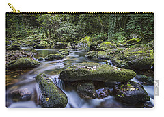 Carry-all Pouch featuring the photograph Belelle River Neda Galicia Spain by Pablo Avanzini