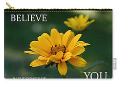 Believe Carry-all Pouch by Denyse Duhaime
