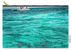 Belize Turquoise Shark N Sail  Carry-all Pouch