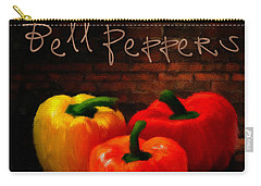 Bell Peppers II Carry-all Pouch by Lourry Legarde