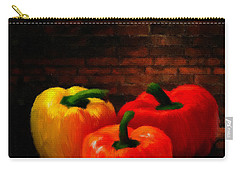 Bell Peppers Carry-all Pouch by Lourry Legarde