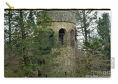 Carry-all Pouch featuring the digital art Bell Tower by Jeannie Rhode