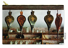 Carry-all Pouch featuring the photograph Bellows In General Store by Susan Savad