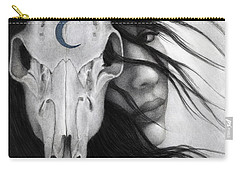 Carry-all Pouch featuring the painting Beltane by Pat Erickson
