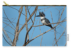 Belted Kingfisher 4 Carry-all Pouch