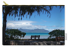 Bench Of Kaneohe Bay Hawaii Carry-all Pouch