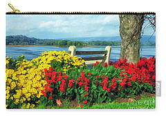 Bench With A View Carry-all Pouch