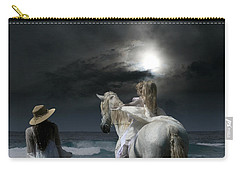 Carry-all Pouch featuring the photograph Beneath The Illusion In Colour by Sharon Mau