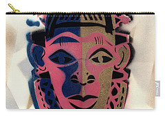 Benin Mask Carry-all Pouch