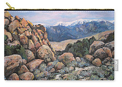 Carry-all Pouch featuring the painting Benton by Donna Tucker