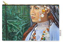 Berber Woman Carry-all Pouch