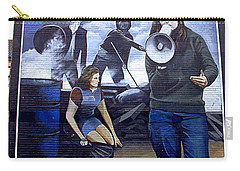 Bernadette Devlin Mural Carry-all Pouch